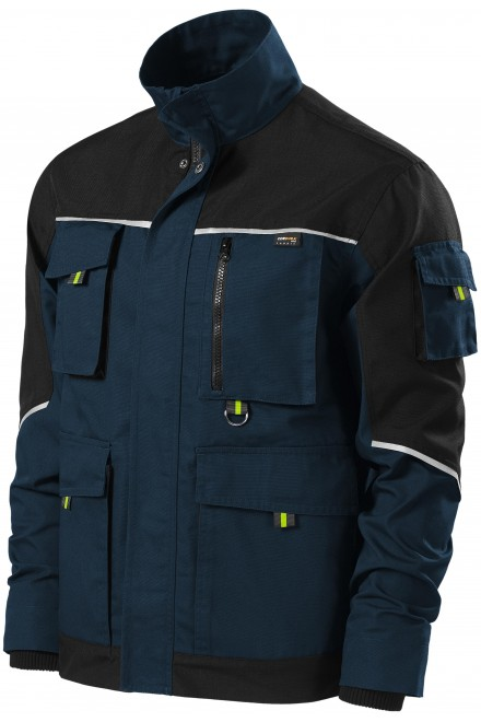 Men's working jacket enhanced Navy blue