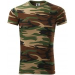 Camouflage brown camouflage T-shirt, XS